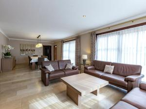 A seating area at Luxurious Villa in De Panne with Garden