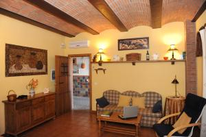 El vestíbulo o zona de recepción de Apartamentos Rurales Monfragüe
