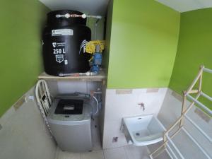 Una cocina o zona de cocina en Apart Inka Deluxe