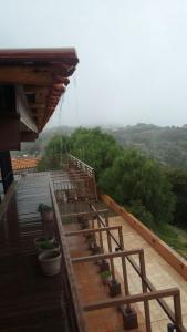 Balkon atau teras di Beit Alward