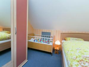 Ein Bett oder Betten in einem Zimmer der Unterkunft Kaub