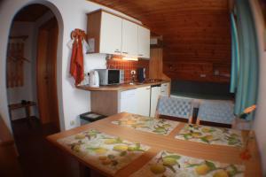 Küche/Küchenzeile in der Unterkunft Appartements Kofler