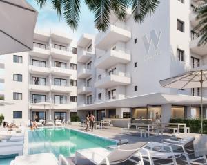 Piscine de l'établissement White Apartments - Adults Only ou située à proximité