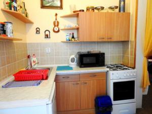 A cozinha ou cozinha compacta de ACE Apartment