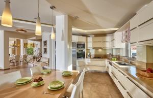 A kitchen or kitchenette at Villa EverGreen