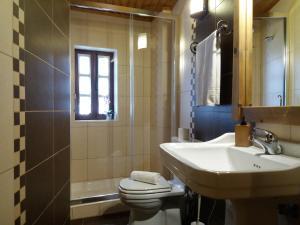 A bathroom at Casinha do México