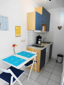 Küche/Küchenzeile in der Unterkunft Apartment Haugerkirchgasse