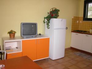 TV o dispositivi per l'intrattenimento presso Residence Perla Rosa