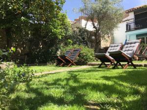 Jardín al aire libre en El Baciyelmo