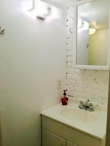 A bathroom at New private studio-apartment