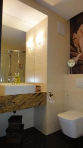 A bathroom at Apartament Kolobrzeg