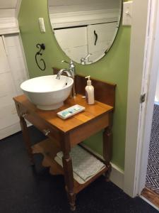 A bathroom at Loyalist Lofts