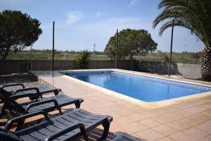 The swimming pool at or near La Parcela