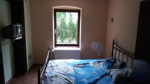 A bed or beds in a room at Casa Sasca Montana