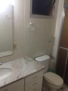 A bathroom at APTO CENTRAL COM WI-FI