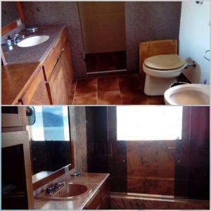 A bathroom at Casa Angra dos Reis - Ponta Leste