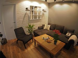Area soggiorno di Valencian Apartment
