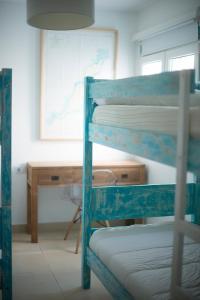 Een stapelbed of stapelbedden in een kamer bij Drago