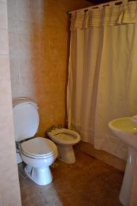 Un baño de Apart Hotel del Chapelco