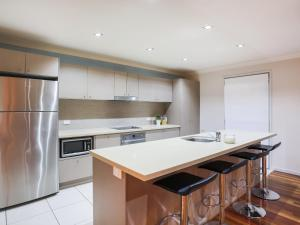 Küche/Küchenzeile in der Unterkunft Hamilton Executive