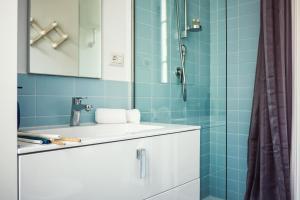 A bathroom at Casa Via Dandolo