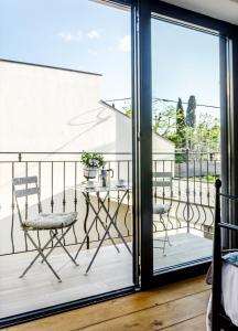 Balkon oz. terasa v nastanitvi Loft and Palma Apartments
