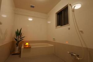 A bathroom at Yachimata Villa