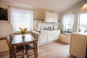 Köök või kööginurk majutusasutuses Lapmanni apartments