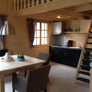 A kitchen or kitchenette at Hollands Oostenrijks huisje