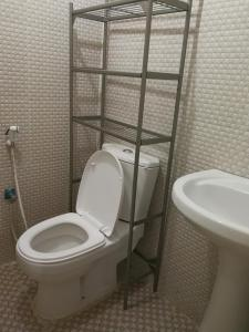 A bathroom at Red Tower Furnished Apartments