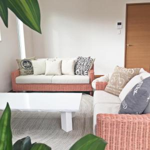 A seating area at Vacation Rental Nicotto