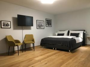 Ein Bett oder Betten in einem Zimmer der Unterkunft Armotti Apartment