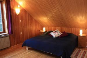 Krevet ili kreveti u jedinici u objektu Apartment Pogled