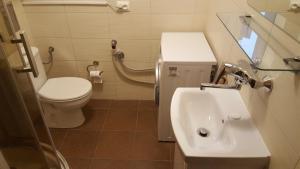 Ein Badezimmer in der Unterkunft Katamaran Apartment