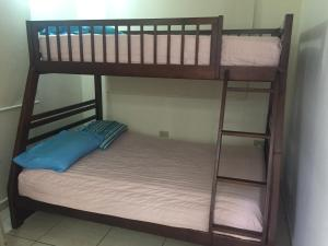 A bunk bed or bunk beds in a room at Rincon Bay Villa