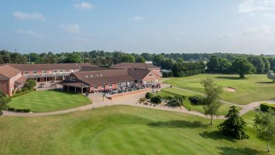 A bird's-eye view of Wensum Valley Hotel Golf and Country Club