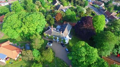 A bird's-eye view of The Grove Cromer