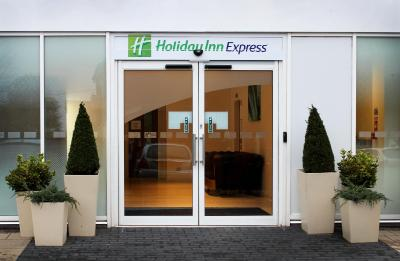 The facade or entrance of Holiday Inn Express Wakefield