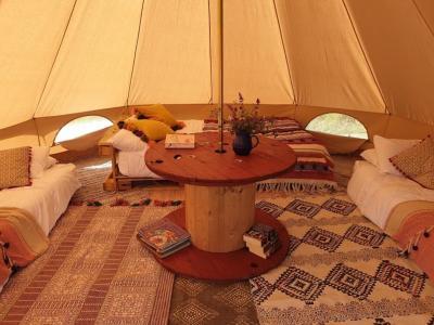 Bunnies Barrow Bell Tent Family Zone