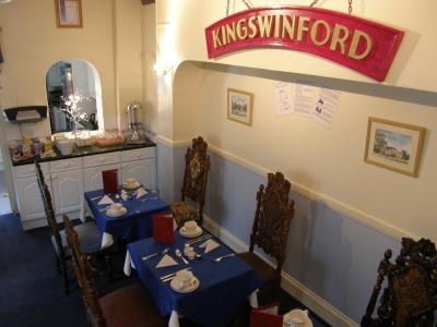 A restaurant or other place to eat at Kingswinford Guest House