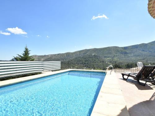 The swimming pool at or close to Les Bassetes