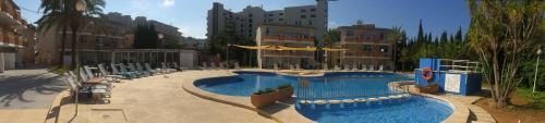 A view of the pool at Club Sa Coma or nearby
