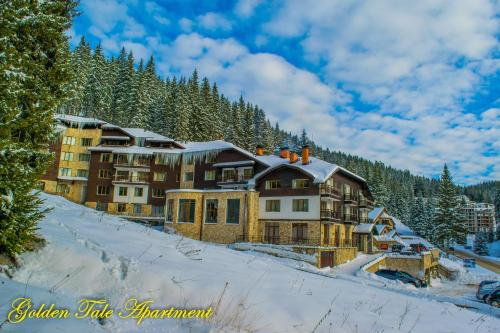 Golden Tale Apartment during the winter