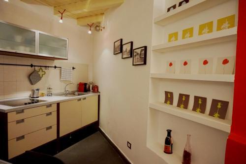 Cucina o angolo cottura di Studio Apartment Vicolo Lavandai