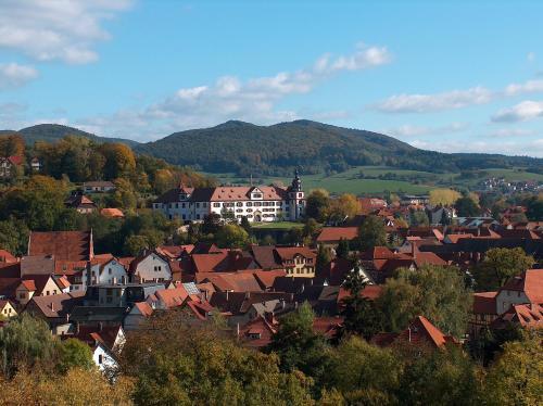 A bird's-eye view of Ferienwohnung Trollmann