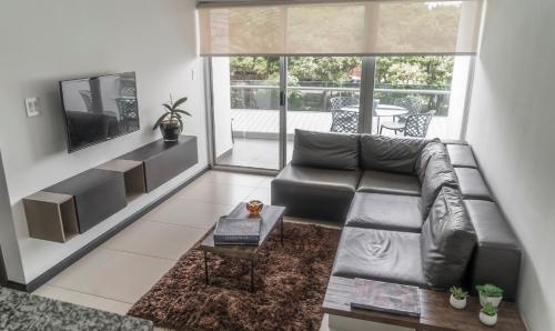 Zona de estar de Comfortable 2 bedroom modern apartment