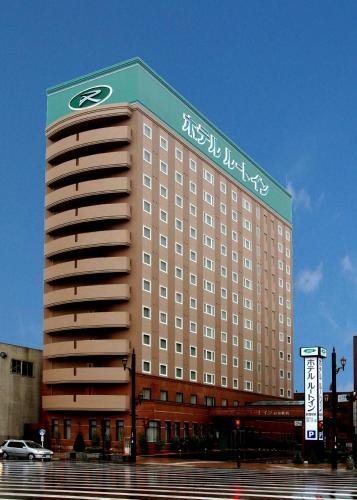 Das Gebäude in dem sich das Economy-Hotel befindet