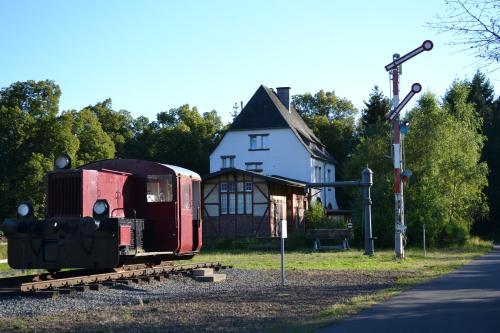 """""""Alter Bahnhof"""" Schalkenmehren"""