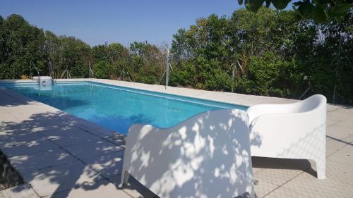 The swimming pool at or near La Turrumbera de Atapuerca