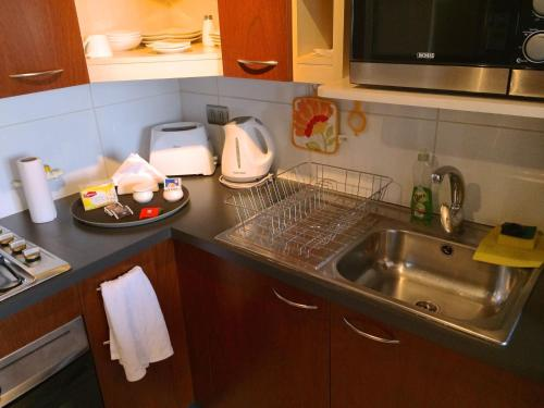 A kitchen or kitchenette at Trivento Apparts